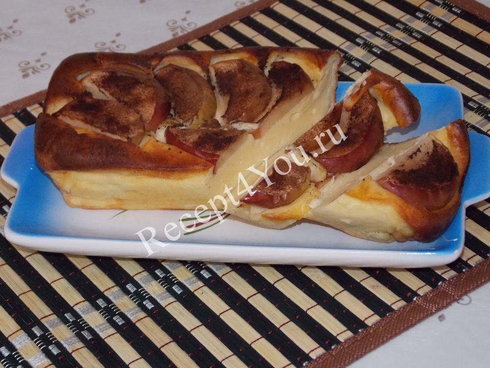 Творожная запеканка простой рецепт в духовке с фото