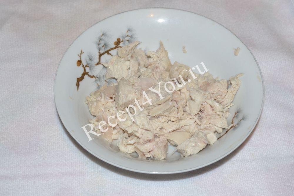 жареная картошка с курицей на сковороде рецепт с фото
