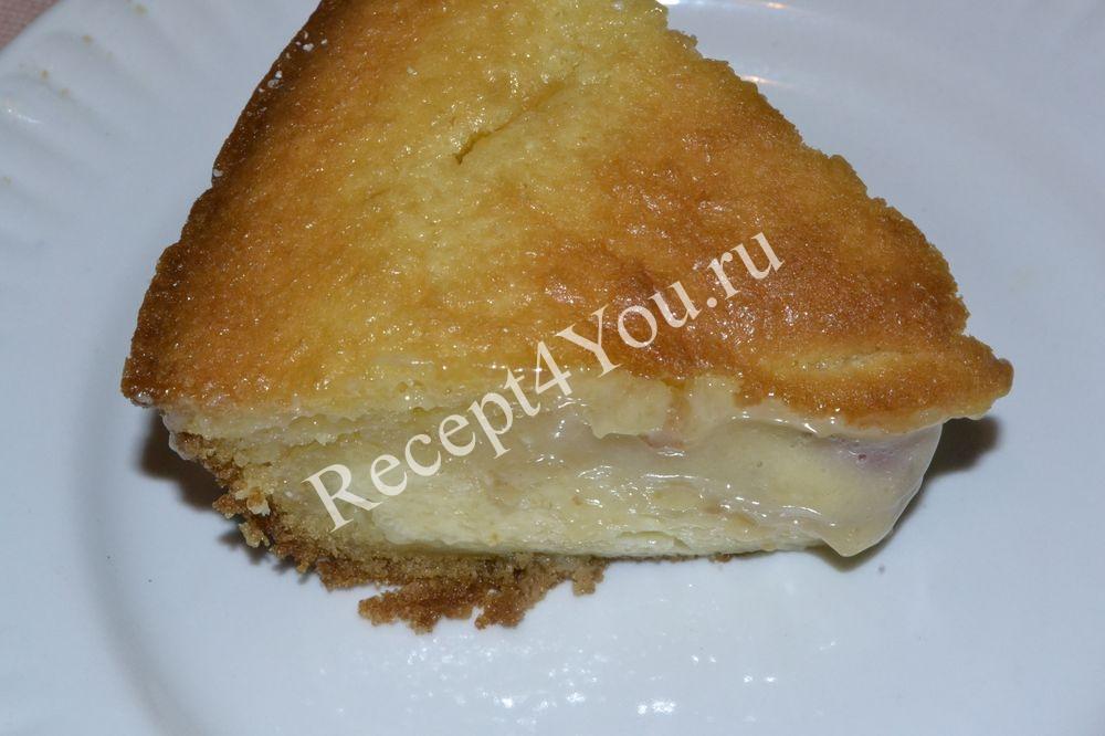 Пирог с вишней в духовке
