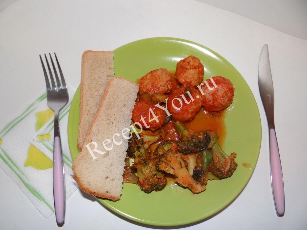 Ежики в томатном соусе