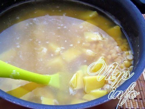 рецепт супа с море продуктами