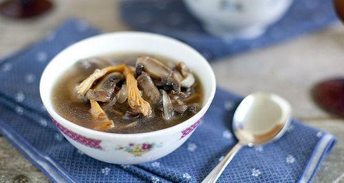 классический грибной суп из белых грибов рецепт