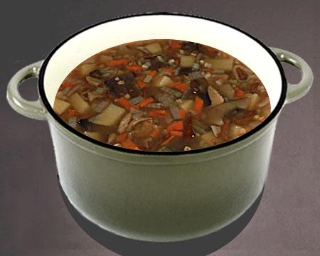 грибной суп рецепт из замороженных грибов классический рецепт
