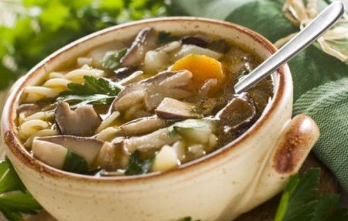 рецепт обычного грибного супа быстро и просто