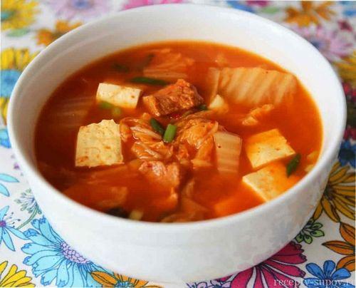 Суп кимчи по-корейски рецепт