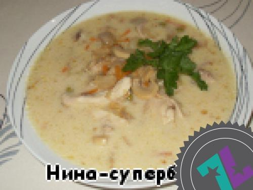 сырный суп как в теремке рецепт