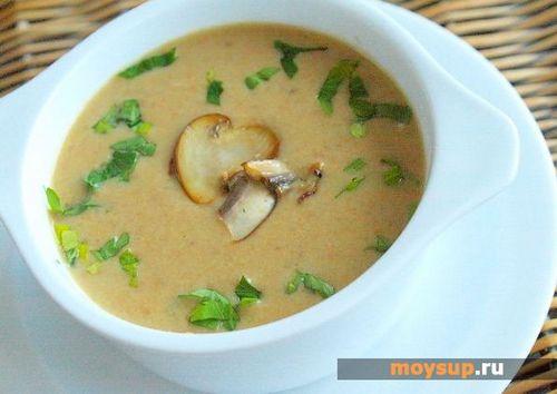Крем суп грибной пошаговый рецепт с