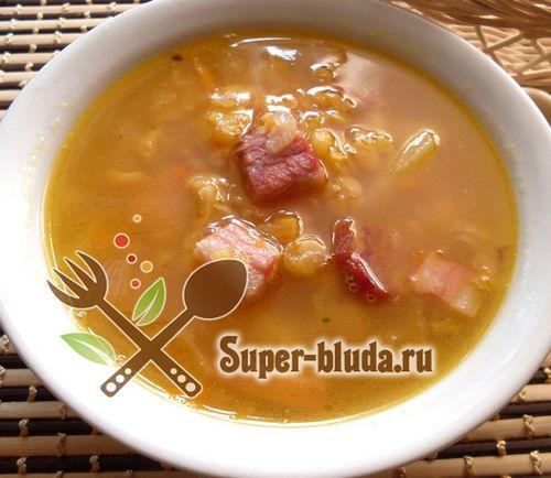 Как приготовить гороховый суп с колбасой пошаговый рецепт