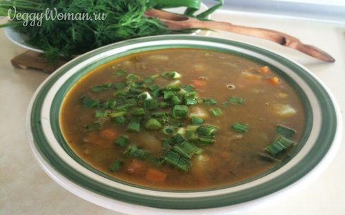 пюре из зеленой чечевицы рецепт с пошагово с