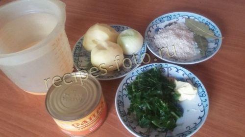 Рыбный суп из сайры консервы рецепт с пошагово в