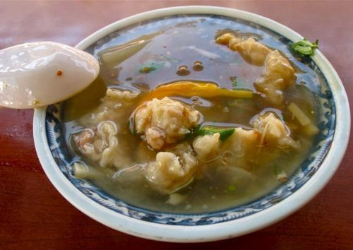 Суп из кальмаровы