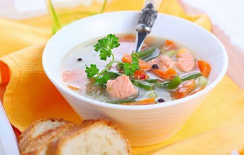 рецепт суп с горбушей консервированной рецепт с фото