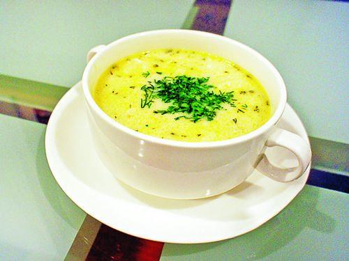 сырный суп на говяжем бульоне рецепт