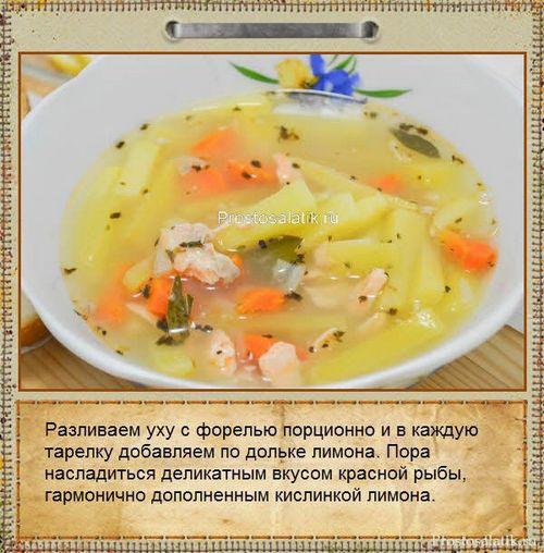 Уха рецепты пошаговые