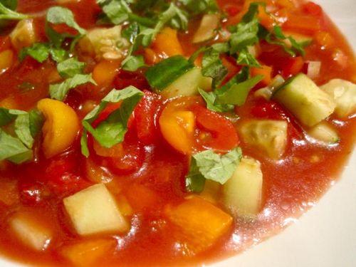 Суп карпаччо из помидор рецепт