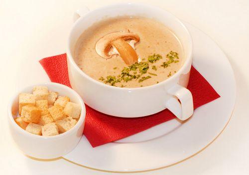 Как приготовить грибной крем суп из шампиньонов