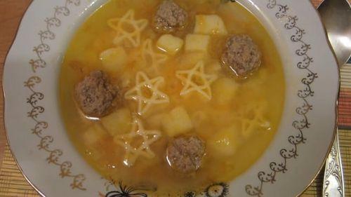 Картофельный суп пюре с фрикадельками рецепт пошагово