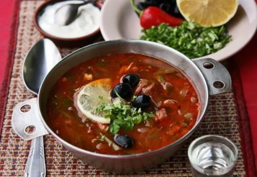 суп рецепт солянки