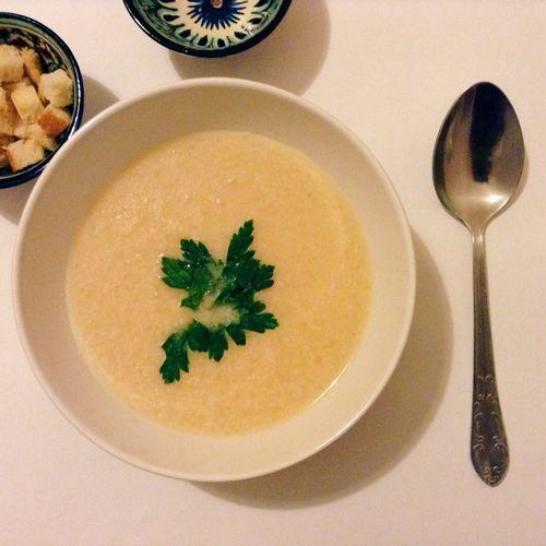Сырный крем суп из плавленного