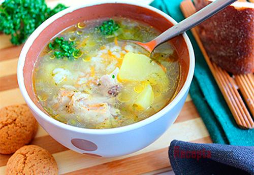 Как приготовить вкусный суп рисовый фото