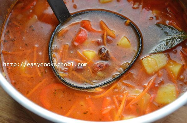 Как варить суп с красной фасолью консервированной