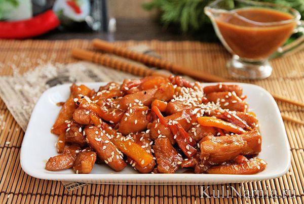 Как приготовить курицу в соусе терияки в домашних условиях по