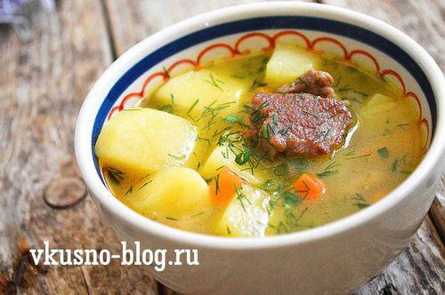 щи на свинине и говядине рецепт-хв8
