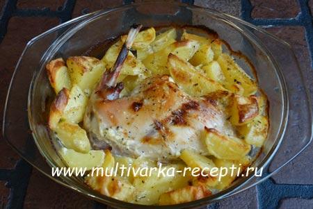 Рецепт кролика с картошкой в духовке чтобы вкусно 58