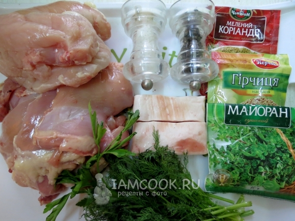 Купаты куриные рецепт пошагово
