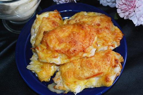 Курица по-французски в духовке рецепт пошагово