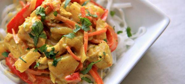 Куриное филе с ананасами на сковороде рецепт