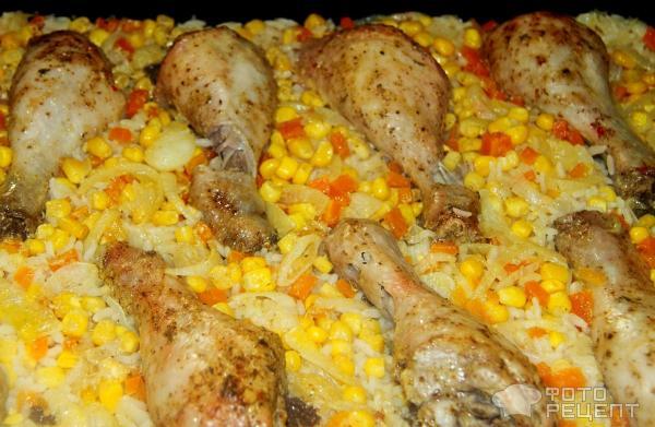 рис в духовке с оващами и курицей Посетители Поисковые