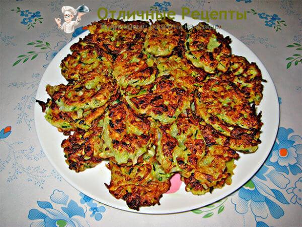 Рецепт оладушек из кабачков сладкие пошаговый рецепт