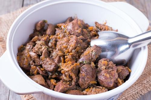 Печень куриная пп рецепты приготовления