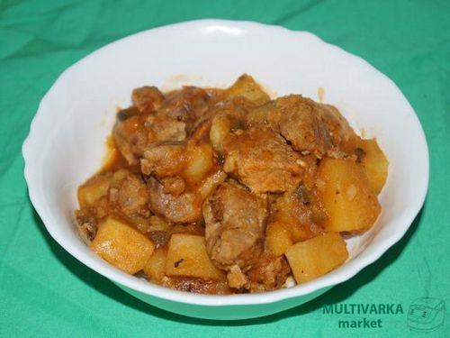 Азу по-татарски с картошкой рецепт с фото в мультиварке