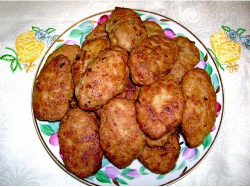рецепты котлет из фарша свинины и говядины без яйца