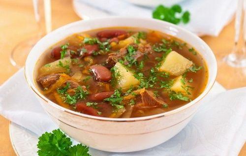 рецепты простых супов из говядины