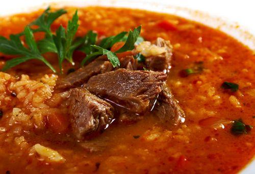 Харчо из баранины по-грузински рецепт пошагово