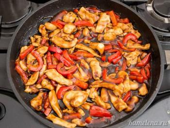 рецепт филе из курицы на сковороде