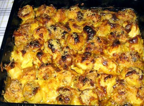 Говядина с картошкой в духовке пошаговый рецепт