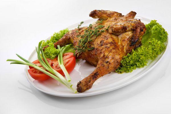 Цыпленок табака классический рецепт на сковороде