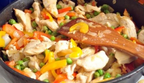 Курица, тушенная с овощами рецепт с фото пошаговый Едим 69