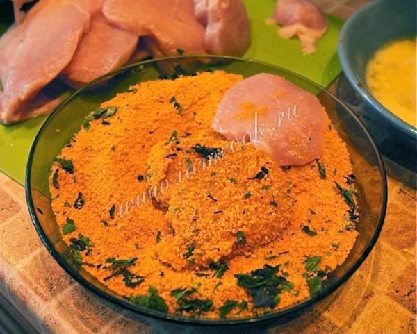 Наггетсы из индейки рецепт в духовке рецепт с пошагово в