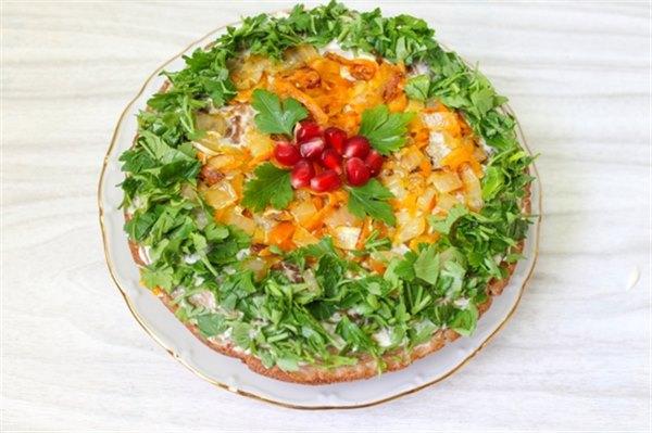 Рецепты печеночного торта из куриной печени рецепт пошаговый