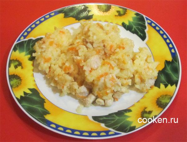 Плов из куриной грудки рецепт пошагово