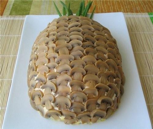 Куриный салат с ананасами и кукурузой рецепт 184