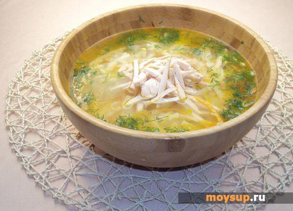 Вкусный куриный суп с лапшой рецепт пошагово
