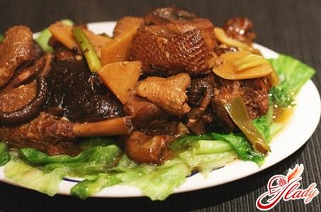 рецепт тушеная утка с фото