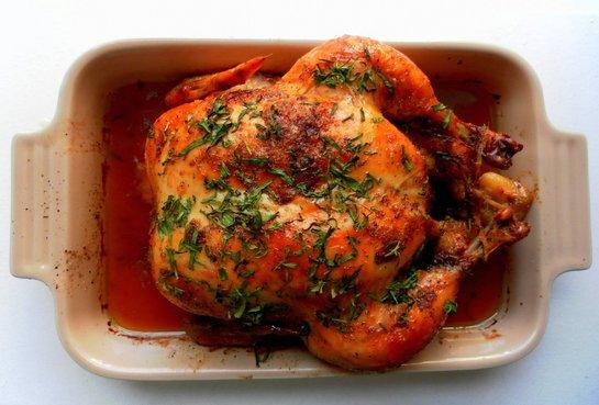 как запечь курицу в духовке с пользой для здоровья
