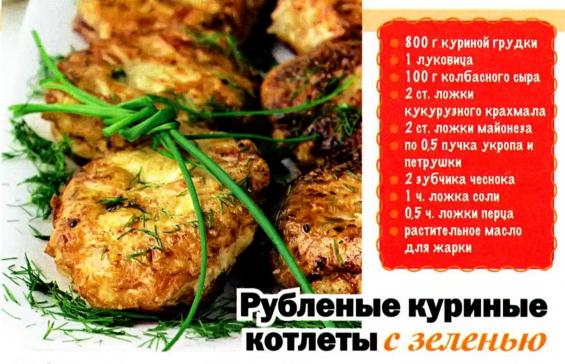 Куриные котлеты рецепт пошагово